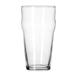 English pub glass 20 oz