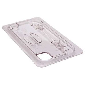 Clear 1 / 2'' hinged lid