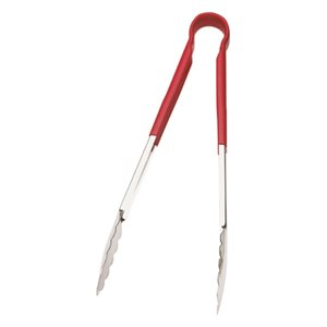 One-piece tong red 12 in