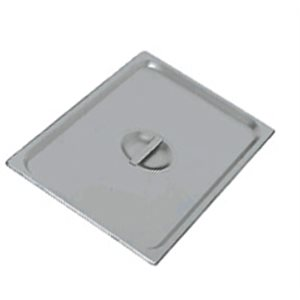 Steam table pan cover half