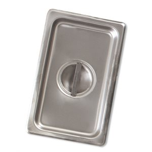 Steam table pan cover one-third