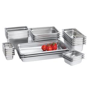 Steam table pan half, 2.5 in depth
